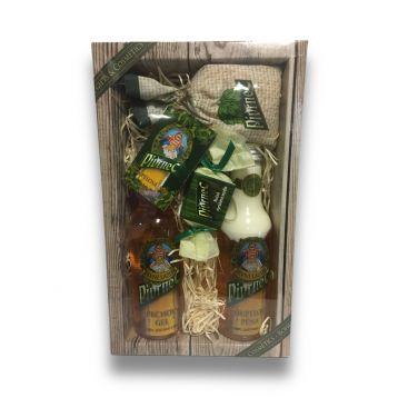 Pivrnec dárkové balení sprchový gel, pěna, mýdlo, sůl