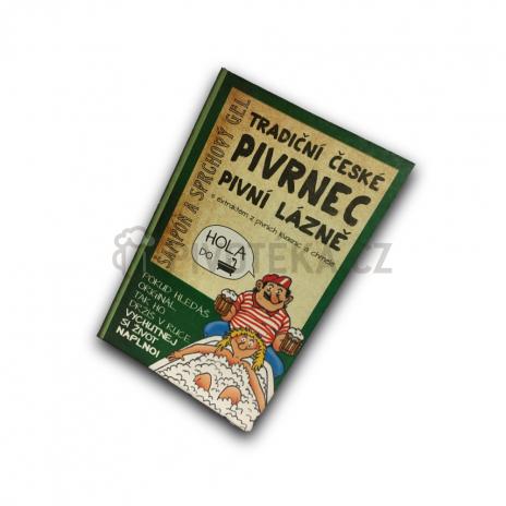 Kniha Pivrnec šampón a sprchový gel