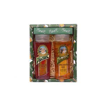 Pivrnec dárkové balení gel + šampón 2 x 250 ml
