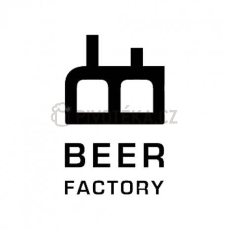 Ležák 12° Beer Factory točené pivo  0,5l