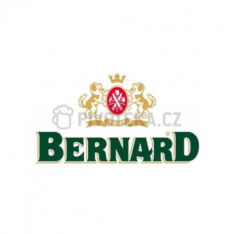 Bernard 11° točené pivo  0,5l