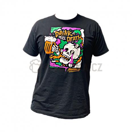 Triko Drink Till Death XXL pánské