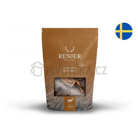 Renjer Jelení (chilli a limeta) Jerky 30g
