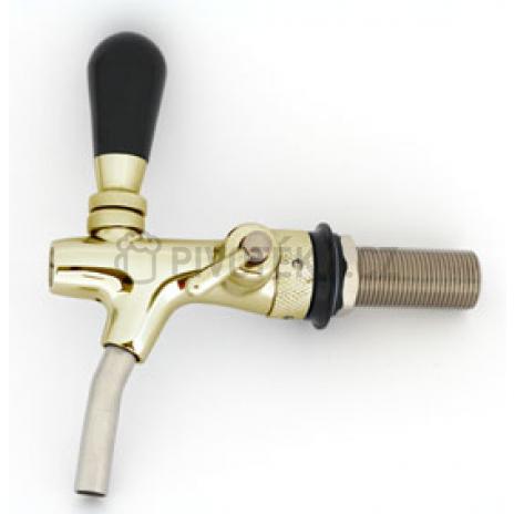 Výčepní kohout zlato 65mm