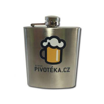 Placatka logo pivotéka 200 ml