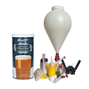 CK nádoba Weizenbier domácí pivo
