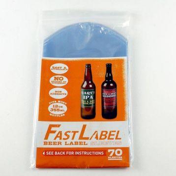 Etikety na pivní láhve FastLabel
