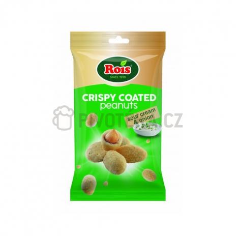 Arašídy v těstíčku sour cream cibule 80g