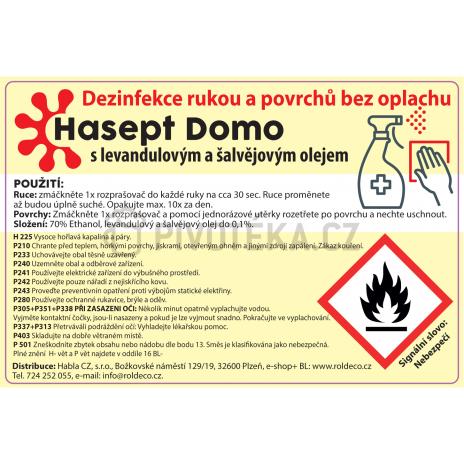 Hasept Domo desinfekce rukou a povrchů