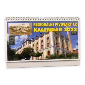 Kalendář regionálních pivovarů ČR 2022