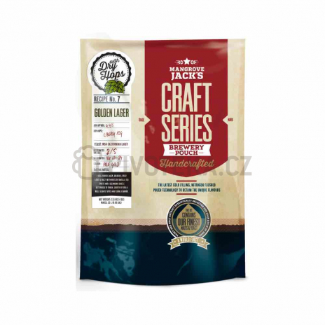 Craft Series Golden Lager Dry hops 1,8kg Mangrove Jack´s koncentrát