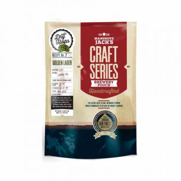 Craft Series Golden Lager Dry hops 1,8kg Mangrove Jack´s koncentrát