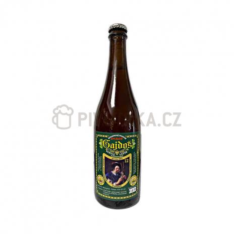 Dvanáctka z Biskupic 12° 0,7l pivovar Gajdoš