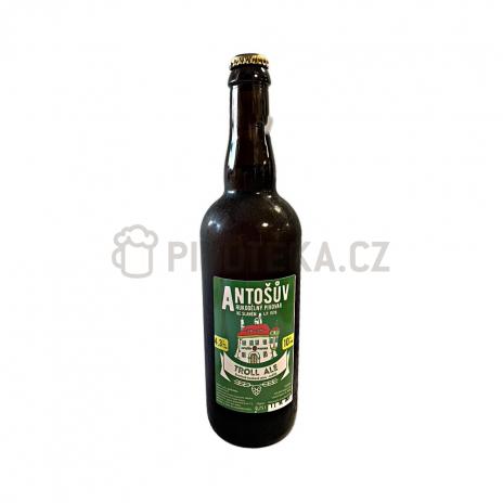 Troll Ale  10° 1l PET pivovar Antoš