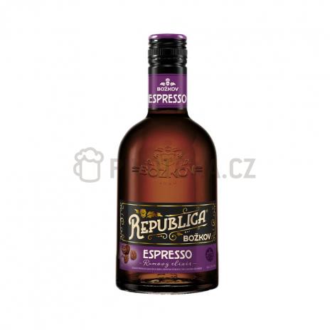 Božkov republica Espresso elixír 35%  0,7l