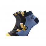 Ponožky pivo MIX velikost 43-46 3 páry