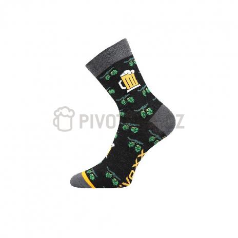 Ponožky pivo chmel velikost 43-46