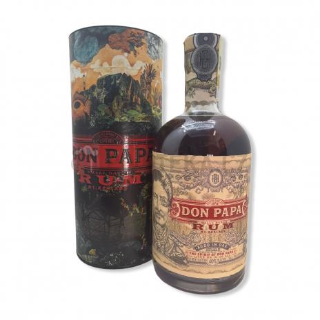 Don Papa Embossed Tin Rum Tuba 0,7l 40%