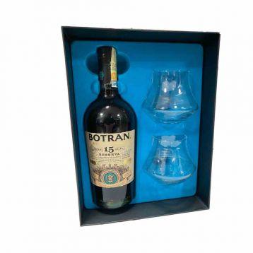 Botran Reserva 15Y.O. Gift box + 2x sklenička