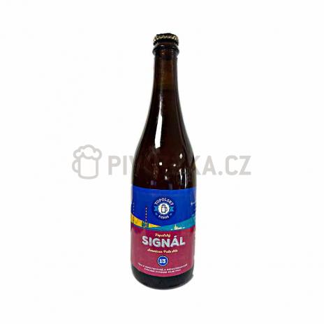 Topolský Signál 13° 0,7l Topolský pivovar