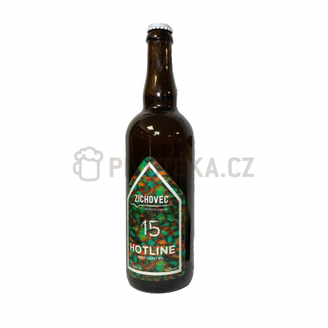 HotLine  15° 0,7l pivovar Zichovec