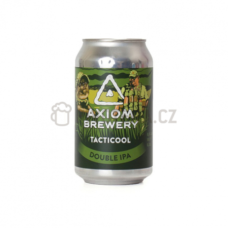 Tacticool 18° 0,3l plechovka Axiom Brewery