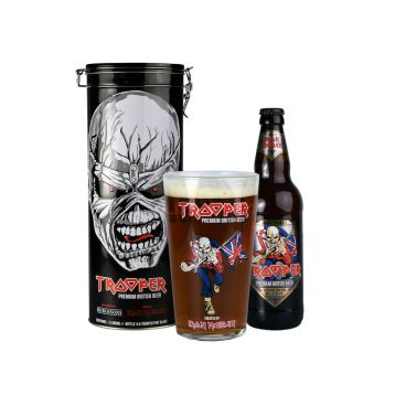 Iron Maiden´s  Trooper 12° 0,5l + 1 x sklo Gift Box