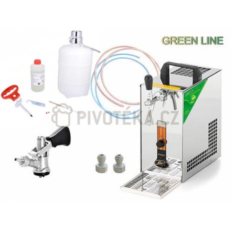 Set Lindr pygmy 25/k Green Line bajonet + sanitační sada