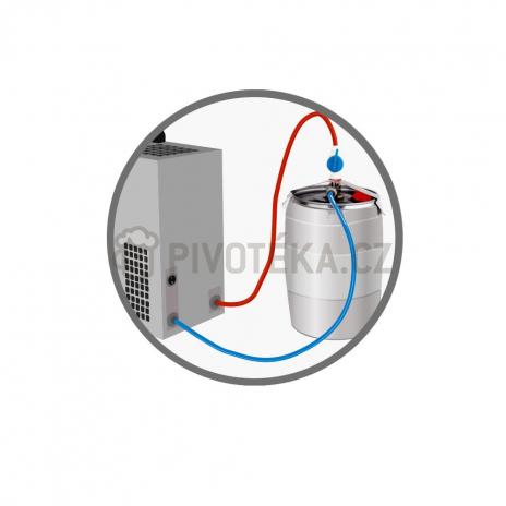 Pygmy 20/k sestava Green Line 2x naražeč + adaptér na 5l soudky