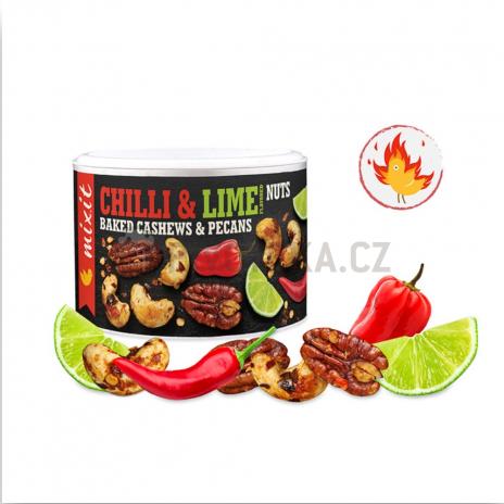 Oříšky z pece Habanero chilli a limetka Mixit 150g