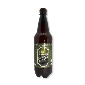 Beskydský Ale 12°  PET 1l Beskydský pivovárek