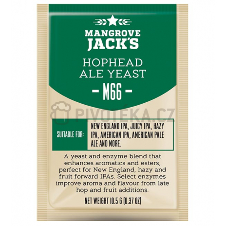 Mangrove Jack´s Hophead Ale Yeast M66 kvasnice 10g