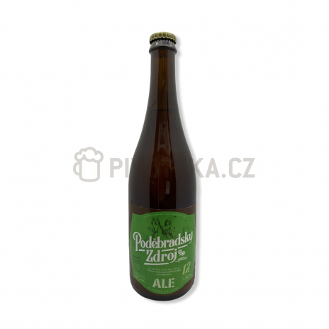 Ale 12° 0,7l pivovar Poděbrady