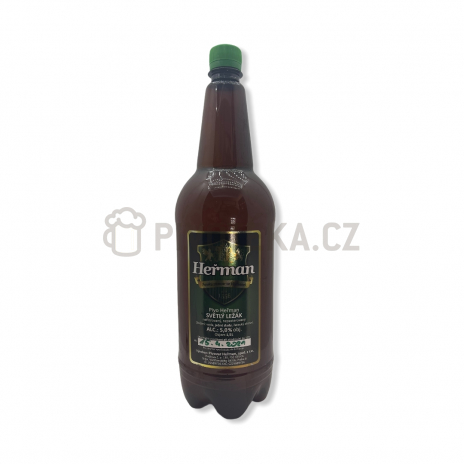 Ležák 12° 1,5l PET pivovar Heřman
