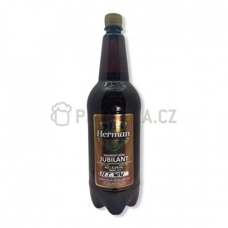 Bavorská 12° 1,5l PET pivovar Heřman