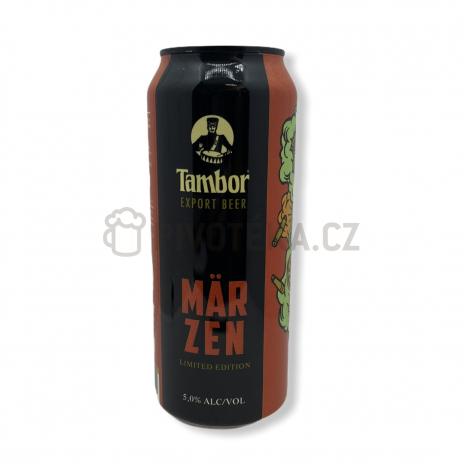 Marzen 11° 0,5l plech Tambor