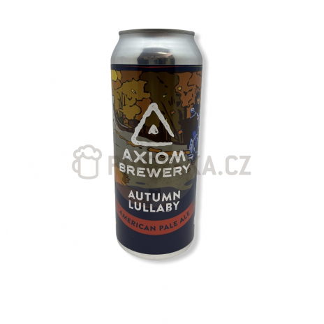 Autumn Lullaby 14° 0,5l plechovka Axiom Brewery