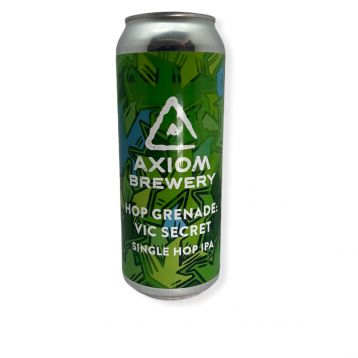 Hop Grenade Vit Secret 15° 0,5l plechovka Axiom Brewery