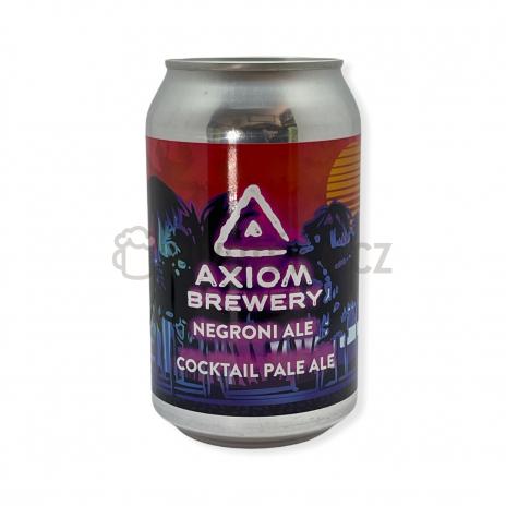 Negroni Ale 12° 0,3l plechovka Axiom Brewery