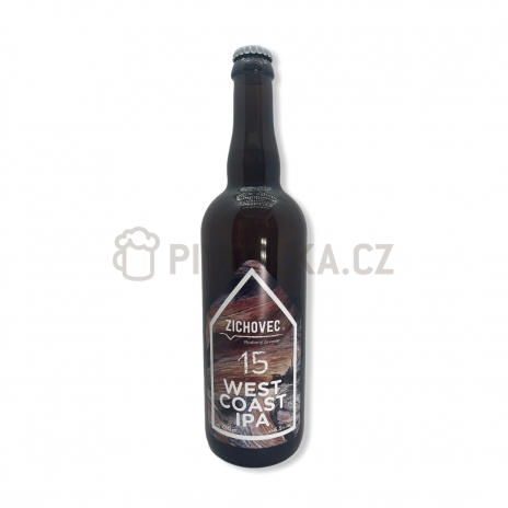 West Coast IPA 15°  0,7l pivovar Zichovec