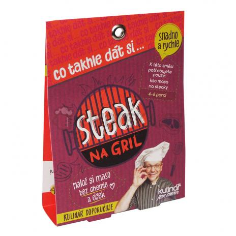 Steak na gril 30g koření kulinář