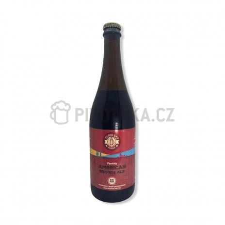 Brown Ale 11° 0,7l Topolský pivovar