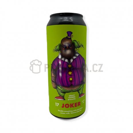 Joker 17° 0,5l Crazy Clown