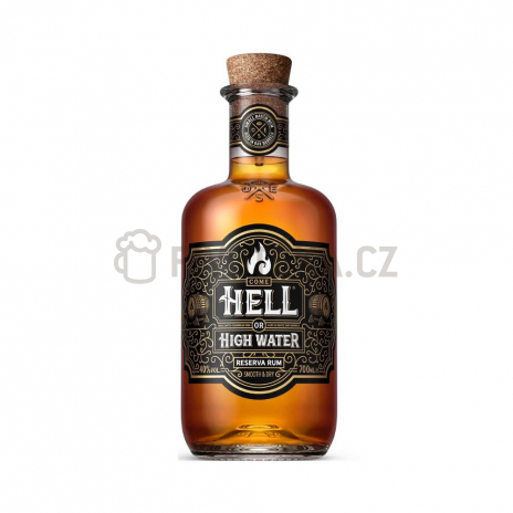Hell or High Water Reserve Rum 8Y.O. 40% 0,7l