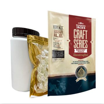 Set Craft Chocolate Brown Ale 2,2kg Mangrove Jack´s koncentrát