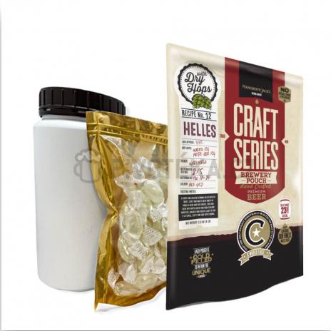 Set Craft Series Helles Lager 1,8kg Mangrove Jack´s koncentrát
