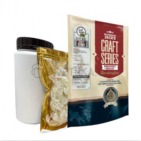 Set Craft Series Roasted Stout Dry Hops 2,2kg Mangrove Jack´s koncentrát