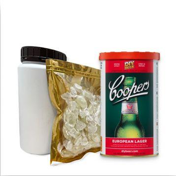 Set European lager 1,7kg mladinový koncentrát Coopers