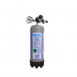 Sestava bombička CO2 1000g redukční ventil s uzávěrem