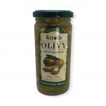 Kreolis olivy zelené s mandlí 240g